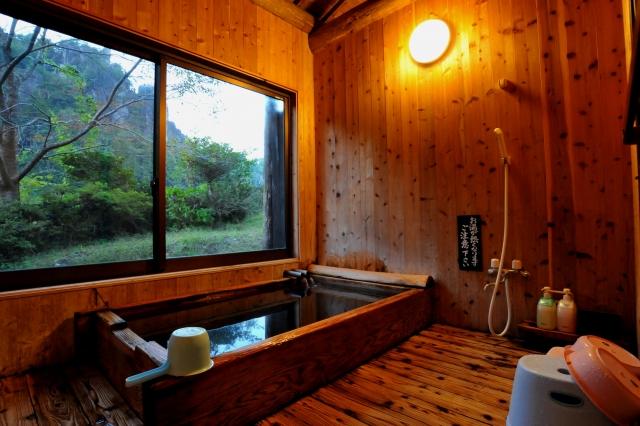 浴室 窓 展望