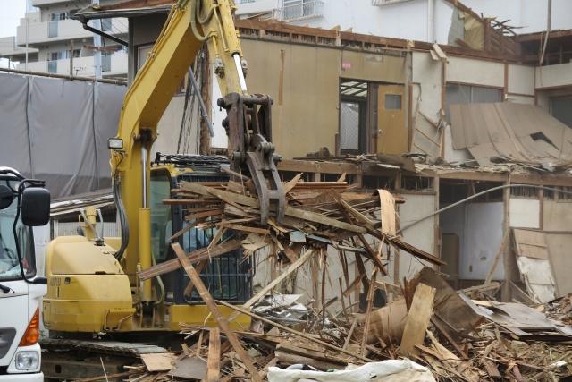建て替え 解体 工事